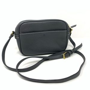 J.Crew 'Signet' Leather Crossbody Bag